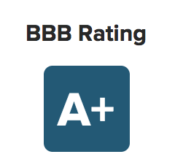 A Plus BBB Rating